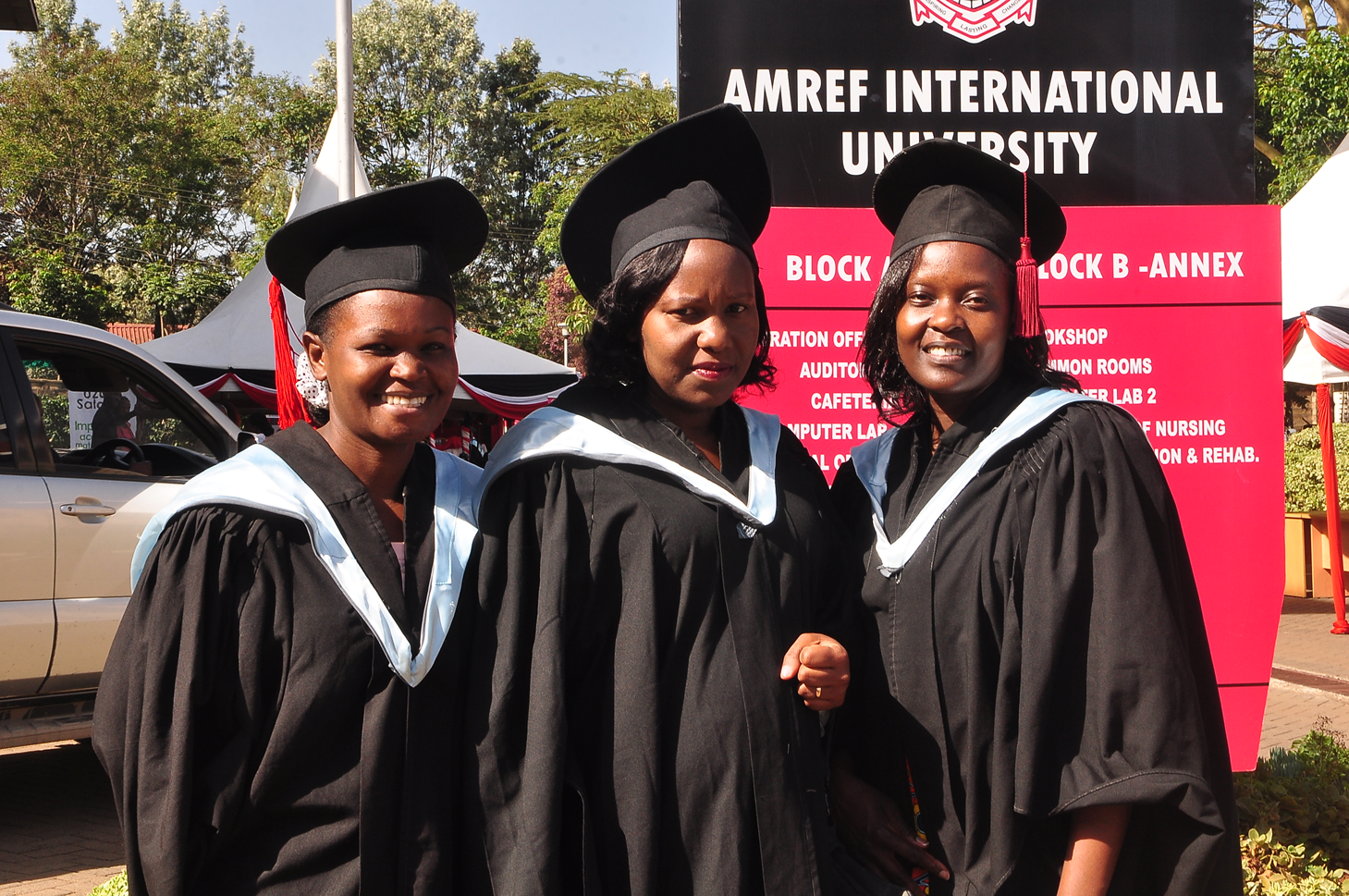 Amref International University Graduation