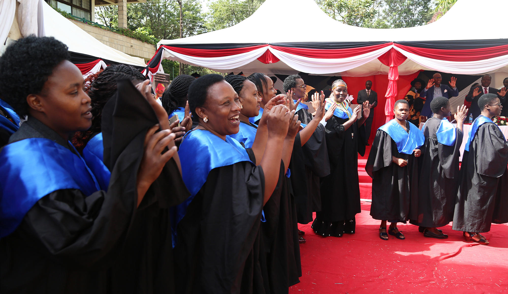 Healthcare receives boost as more than 500 Amref Health Africa graduates join sector