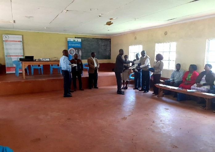Nyeri training of CHEWs & CHVs